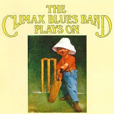 CLIMAX BLUES BAND-PLAYS ON LP VG+ COVER G+
