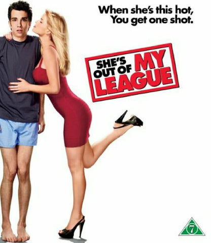 SHE'S OUT OF MY LEAGUE DVD VG+