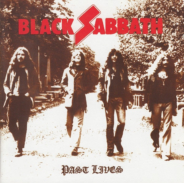 BLACK SABBATH-PAST LIVES 2CD VG
