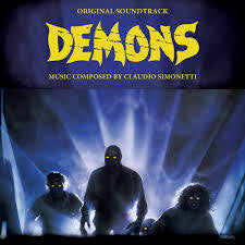 DEMONS-OST CLAUDIO SIMONETTI  BLUE VINYL LP *NEW*