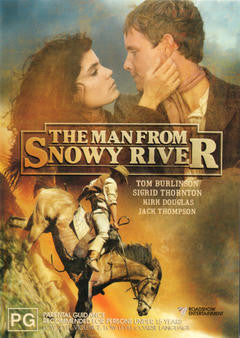 MAN FROM SNOWY RIVER THE DVD VG