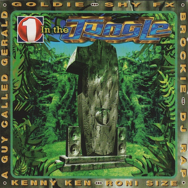 1 IN THE JUNGLE-VARIOUS ARTISTS 2CD VG