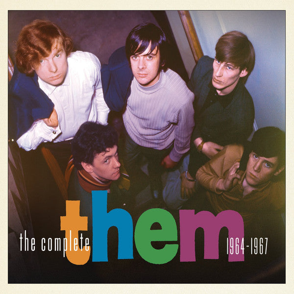 THEM-THE COMPLETE THEM 1964-1967 3CD VG+