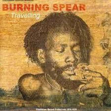 BURNING SPEAR-TRAVELLING LP EX COVER VG+