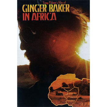 BAKER GINGER-IN AFRICA DVD *NEW*