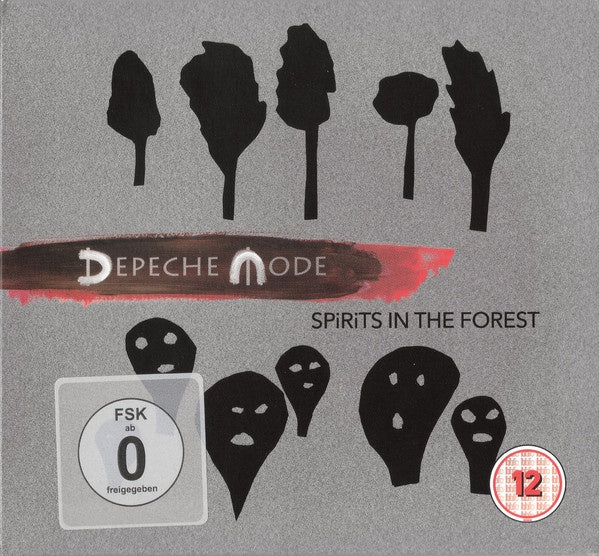 DEPECHE MODE-SPIRITS IN THE FOREST 2CD + 2BLURAY *NEW*