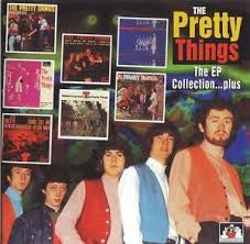 PRETTY THINGS THE-EP COLLECTION PLUS CD VG