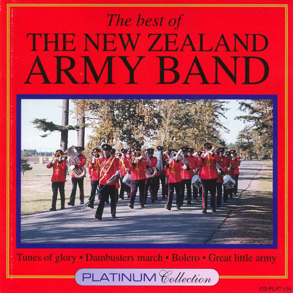 NEW ZEALAND ARMY BAND-BEST OF CD VG