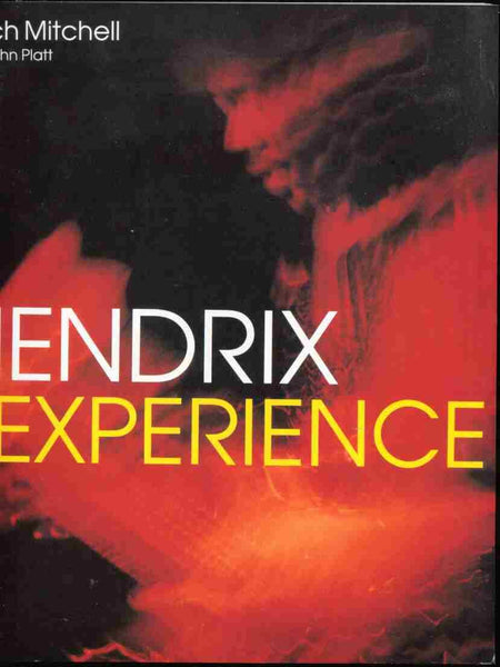 HENDRIX EXPERIENCE BOOK VG