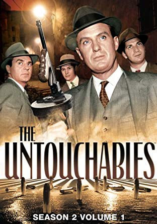 UNTOUCHABLES SEASON TWO VOLUME ONE 4DVD VG