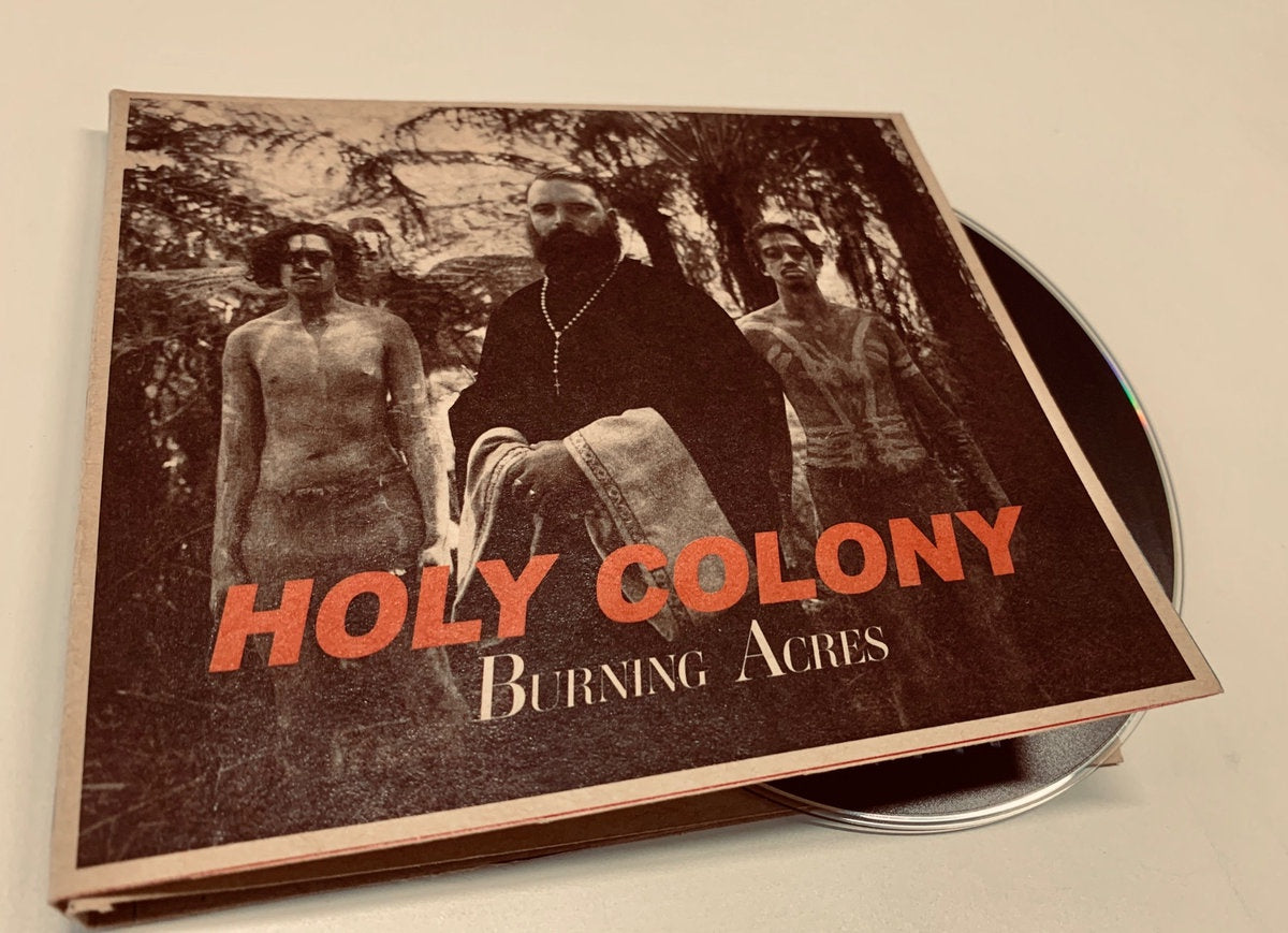 KINGI TROY & THE UPPERCLASS-HOLY COLONY BURNING ACRES CD *NEW*
