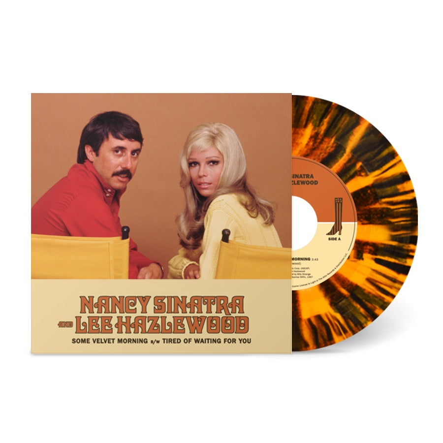 "SINATRA NANCY & LEE HAZLEWOOD-SOME VELVET MORNING SPLATTER VINYL 7"" *NEW*"