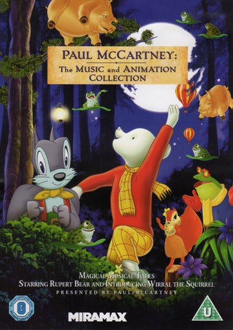 MCCARTNEY PAUL-THE MUSIC AND ANIMATION COLLECTION DVD *NEW*