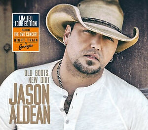 ALDEAN JASON-OLD BOOTS, NEW DIRT CD+DVD VG