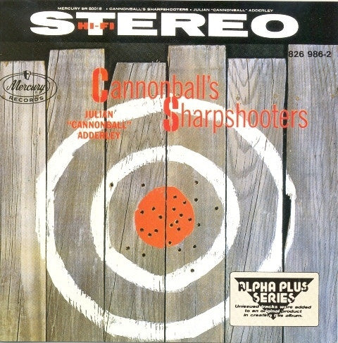 ADDERLY CANNONBALL-CANNONBALL'S SHARPSHOOTERS CD G