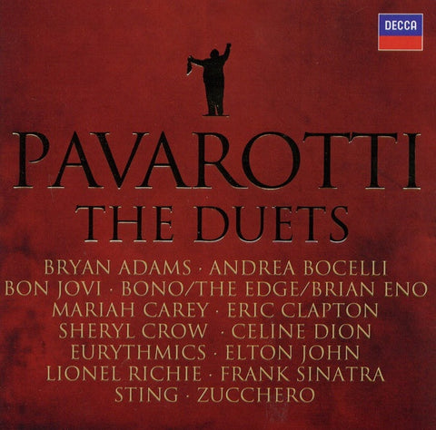 PAVAROTTI-THE DUETS VARIOUS ARTISTS CD G