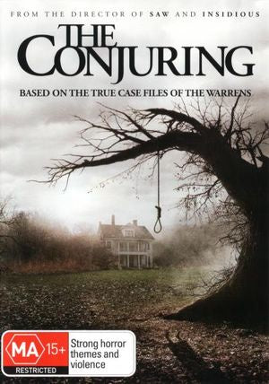CONJURING- THE RATED R16 DVD VG+