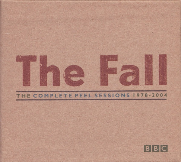 FALL THE-THE COMPLETE PEEL SESSIONS 1978-2004 6CD SET VG+