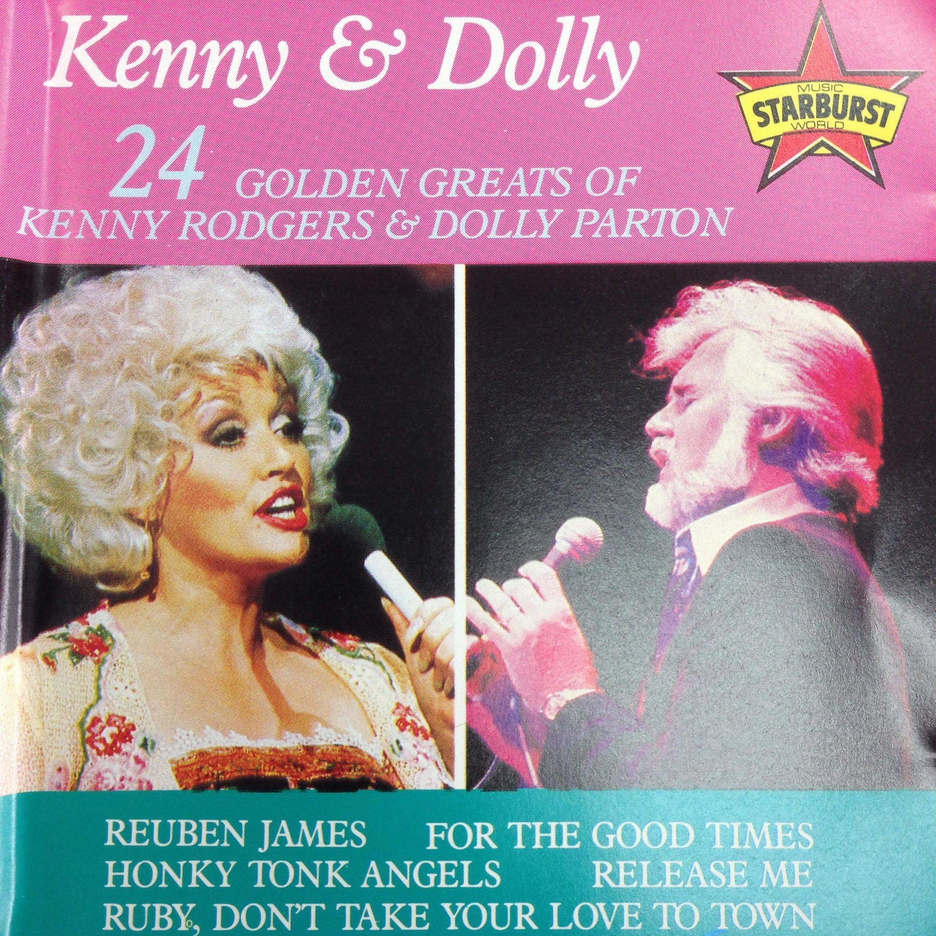 ROGERS KENNY & DOLLY PARTON-24 GOLDEN GREATS CD VG