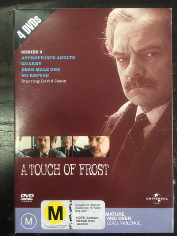 A TOUCH OF FROST-SERIES 3. 4 DVD VG