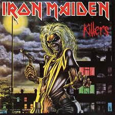 IRON MAIDEN-KILLERS LP VG COVER VG+