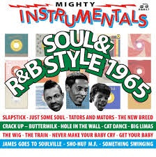 MIGHTY INSTRUMENTALS SOUL & RNB STYLE 1965-VARIOUS ARTISYS LP *NEW*