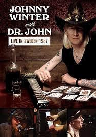 WINTER JOHNNY WITH DR JOHN-LIVE IN SWEDEN 1987 DVD *NEW*