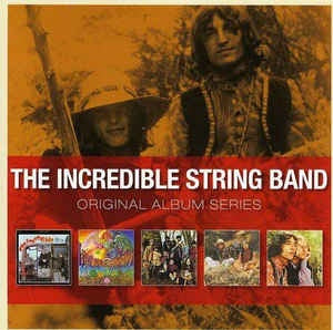 INCREDIBLE STRING BAND THE-ORIGINAL ALBUM SERIES 5CD VG