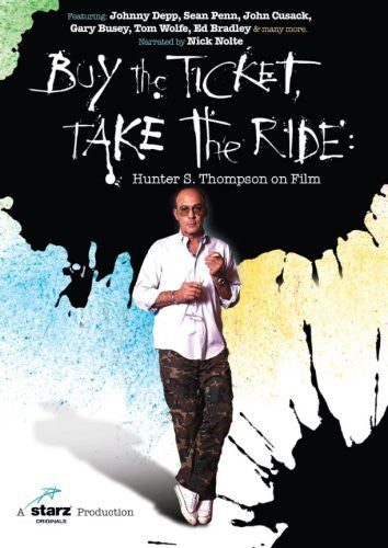BUY THE TICKET TAKE THE RIDE-HUNTER S THOMPSON DVD VG