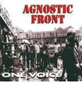 AGNOSTIC FRONT-ONE VOICE CD *NEW*