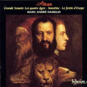 ALKAN-GRANDE SONATE  + SONATINE ETC CD VG
