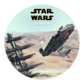 "STAR WARS-THE FORCE AWAKENS 10"" PICTURE DISC *NEW*"