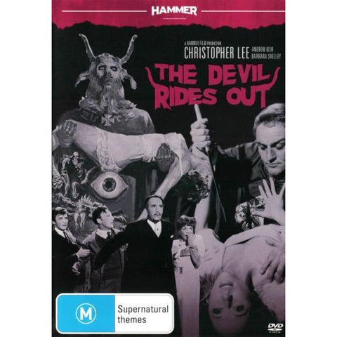 DEVIL RIDES OUT DVD VG