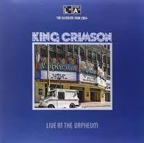 KING CRIMSON-LIVE AT THE ORPHEUM  LP *NEW*