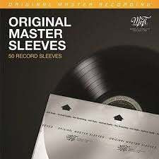 MOBILE FIDELITY PACK OF 50 ORIGINAL MASTER SLEEVES *NEW*
