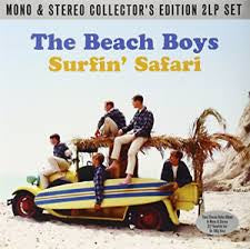 BEACH BOYS THE-SURFIN' SAFARI MONO & STEREO 2LP VG COVER VG+