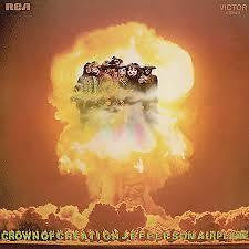 JEFFERSON AIRPLANE-CROWN OF CREATION LP VG+ COVER VG +
