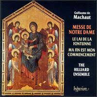 MASHAUT-MESSE DE NOTRE DAME HILLIARD ENSEMBLE CD *NEW*