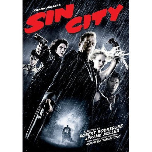 SIN CITY REGION 2 DVD VG