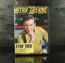 STAR TREK THE ORIGINAL SERIES DISC 2 EPS.4,5,6 DVD NM