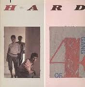 GANG OF 4-HARD LP VG+ COVER VG