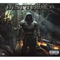 DISTURBED-INDESTRUCTIBLE CD VG