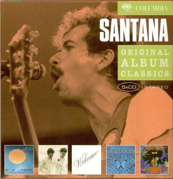 SANTANA-ORIGINAL ALBUM CLASSICS 5CD VG+