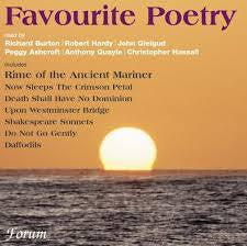 GREAT VOICES READ POETRY-FAVOURITE POETRY CD *NEW*