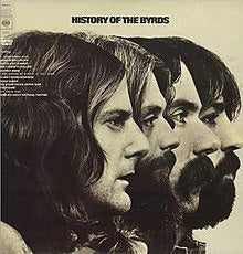 BYRDS THE-HISTORY OF THE BYRDS 2LP VG+ COVER VG+