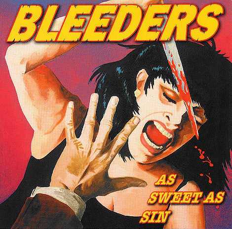 BLEEDERS-AS SWEET AS SIN CD+DVD G