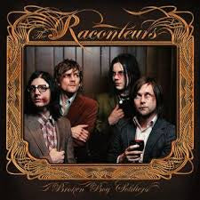RACONTEURS THE-BROKEN BOY SOLDIERS LP VG+ COVER EX