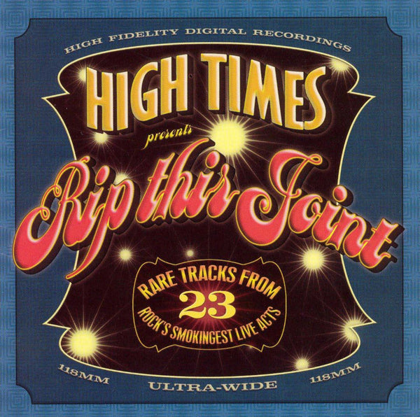 HIGH TIMES PRESENTS RIP THIS JOINT-VARIOUS ARTISTS 2CD VG