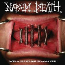 NAPALM DEATH-CODED SMEARS & MORE UNCOMMON SLURS 2LP *NEW*