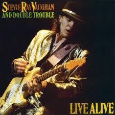 VAUGHAN STEVIE RAY-LIVE  ALIVE  2LP *NEW*